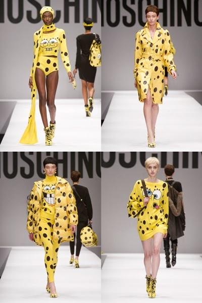 Brand Moschino Rilis Baju Sponge Bob - Zackylicious 044a22330a