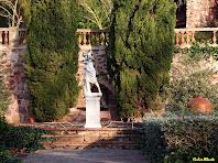 Una de les fonts dels jardins de Ca n'Oliveres. Autor: Carlos Albacete
