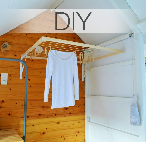 DIY- foldable drying rack