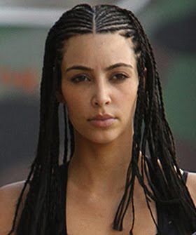 Kardashian Cornrows on Kim Kardashian The Offical Mascot Of La Flora De La Luna I Can T Help