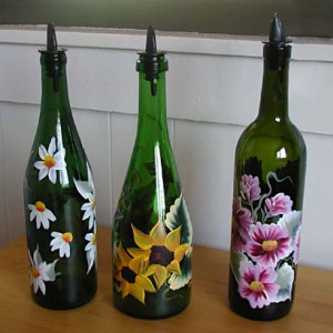 Help-I've got no dosh!: Recycling glass bottles!