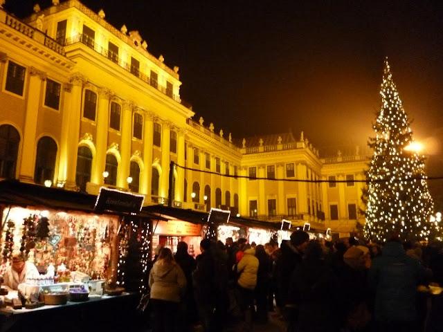 mercatino di natale di schoenbrunn, vienna