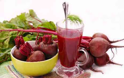 Drinking beet juice daily lowers high blood pressure