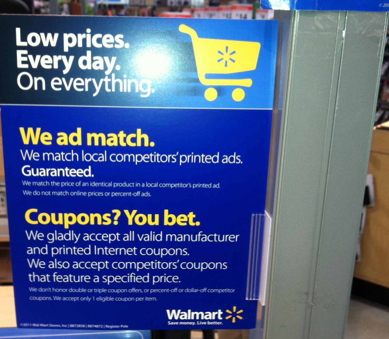 Subscribe walmart coupons