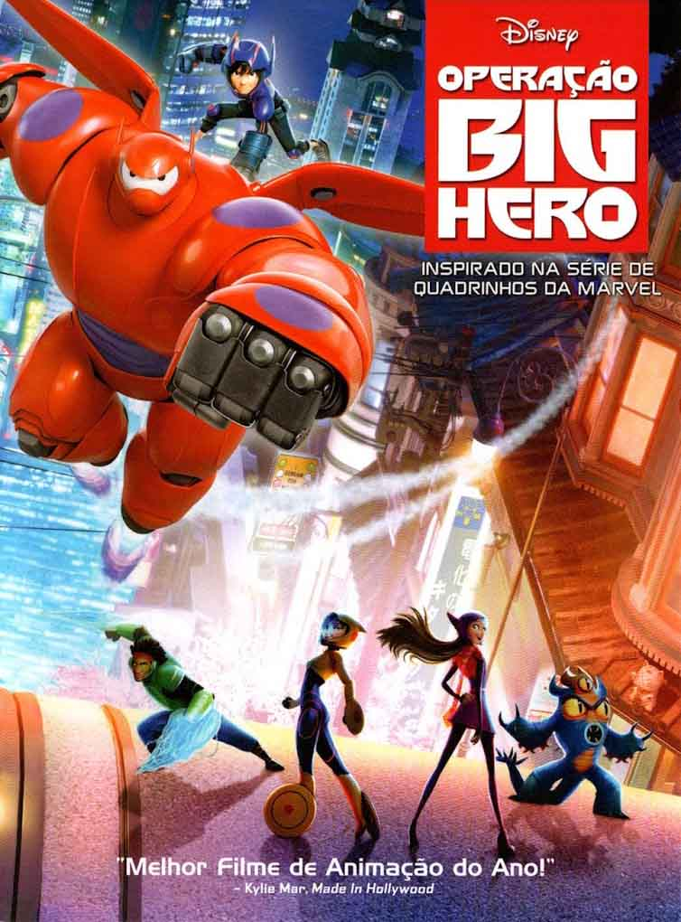 Operação Big Hero Torrent - Blu-ray Rip 720p e 1080p Dublado (2015)