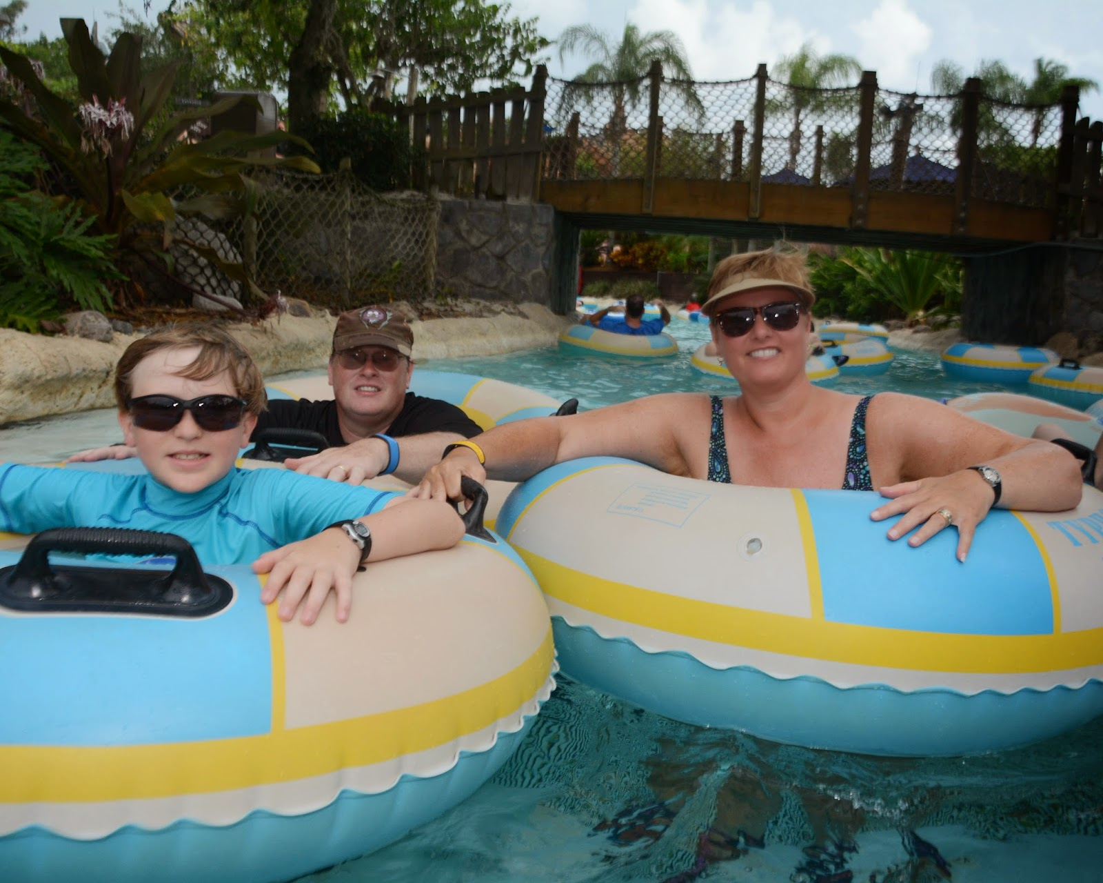 Williams family we are water park people for We are water