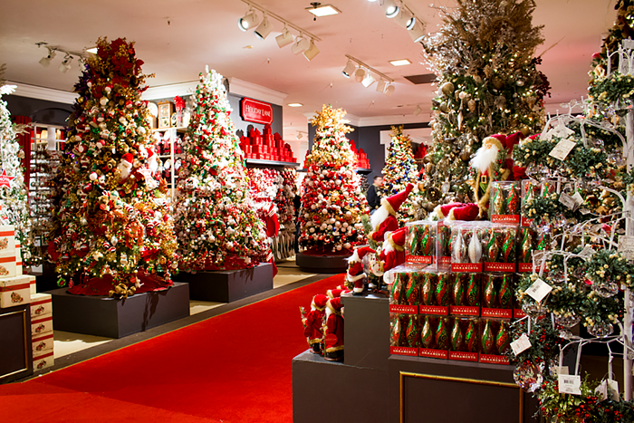 Christmas in Macy's, NYC