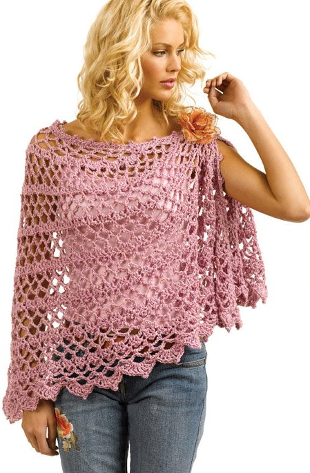 1000+ images about Crochet - Scarf, poncho.... on ...