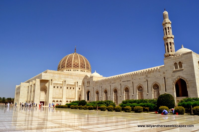 Sultan Qaboos Grand Mosque's main building