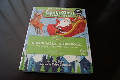 Hallmark Recordable Storybook Santa Claus Is Coming to Town