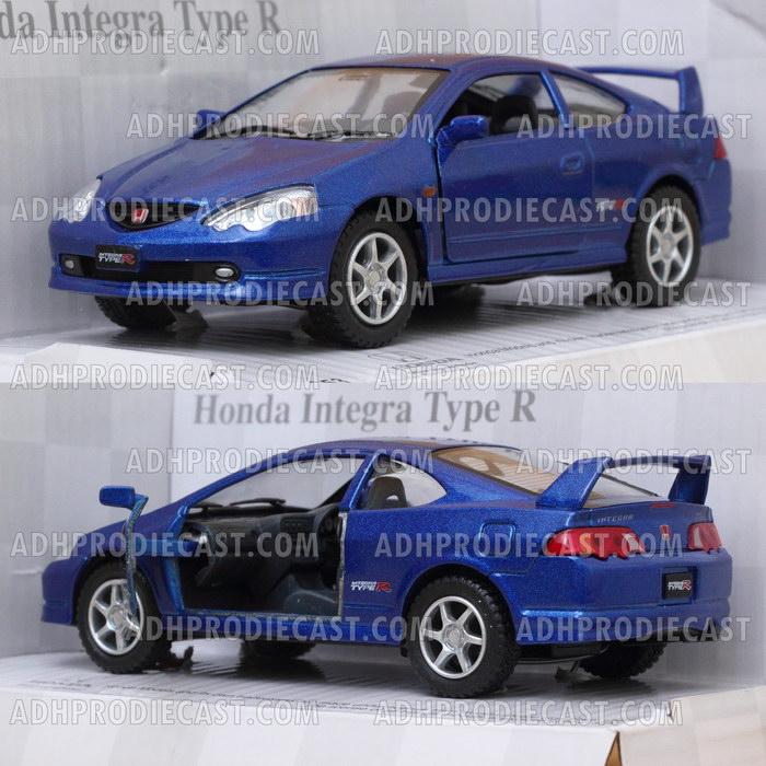 Miniatur Honda Integra Type R (Blue-32K)