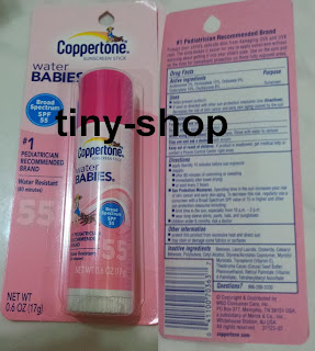 Water Babies Sunscreen Sunblock Stick SPF 55 Coppertone