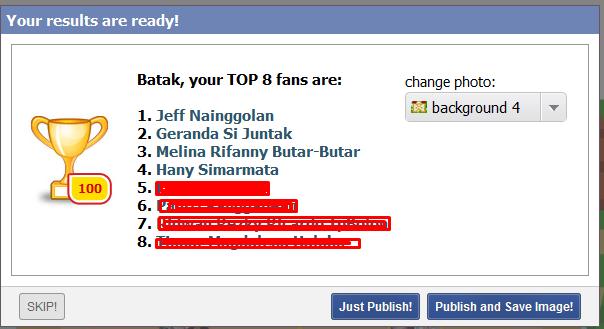 Mengintip siapa yang sering melihat profil facebook kita