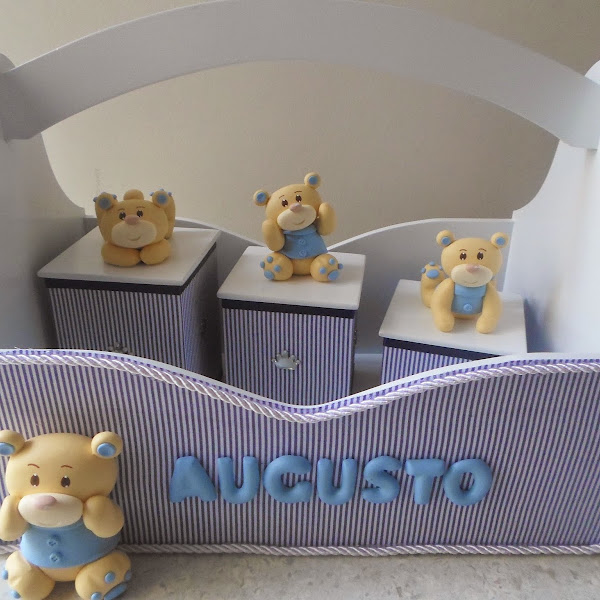 Kit Higiene de Ursinhos