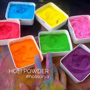 Holi Powder Brebes
