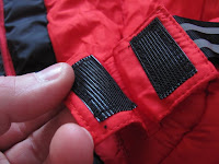 Velcro in Mammut Sleeping Bag