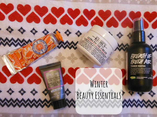 Albertine's Winter Beauty Essentials (Guest Post)