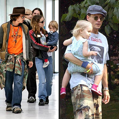 johnny depp wife vanessa. johnny depp wife and children