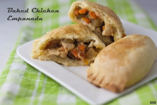 How to Bake Chicken Empanada