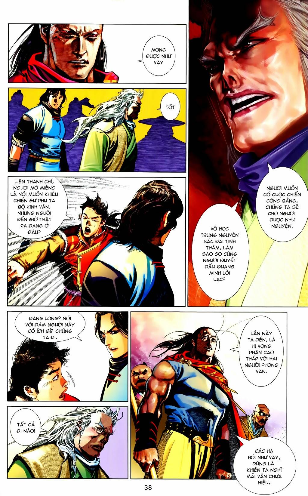 Phong Vân Chap 663 - Trang 38