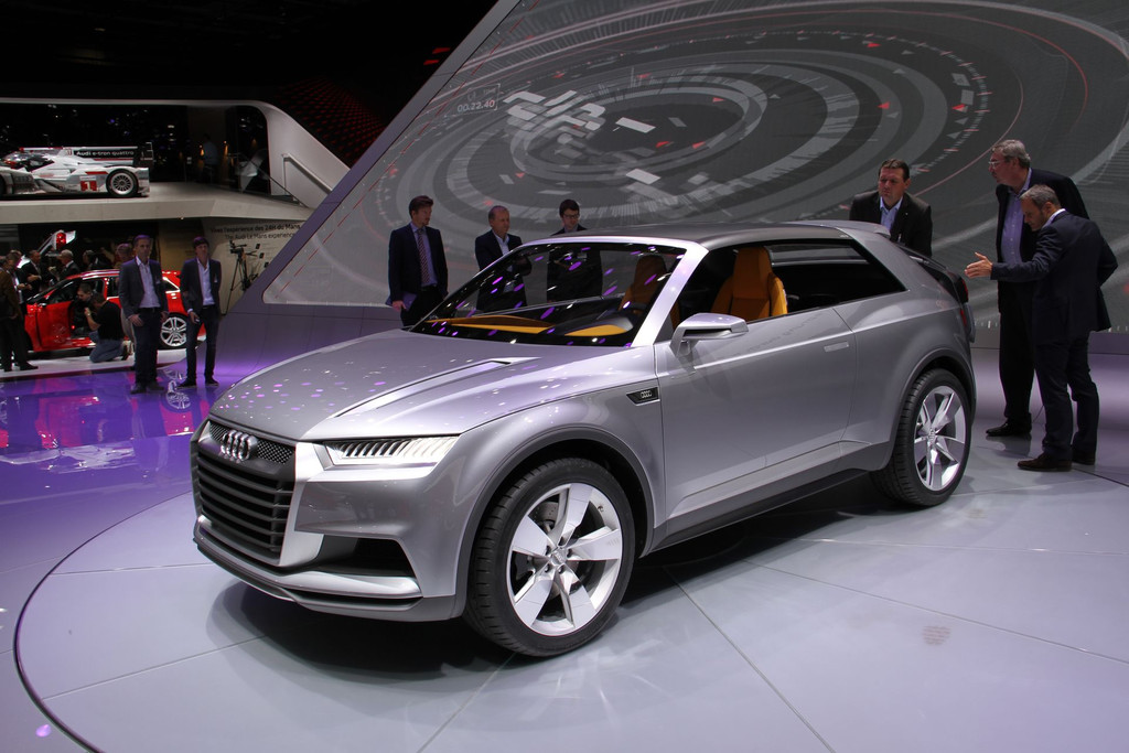 actualit automobile futur audi q2 crosslane coupe concept. Black Bedroom Furniture Sets. Home Design Ideas