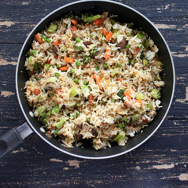 Vegan Richa: Garlic Fried Rice