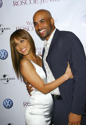 Nicole Ari Parker and Boris Kodjoe