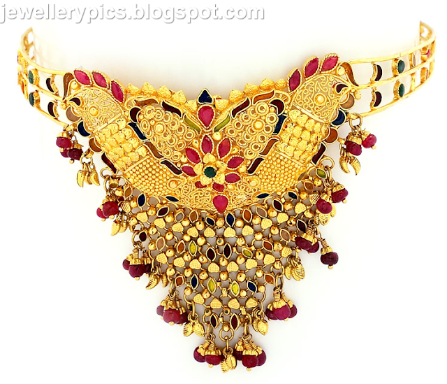 Beautiful Gold Armlets By GRT Jewellers Latest Jewellery