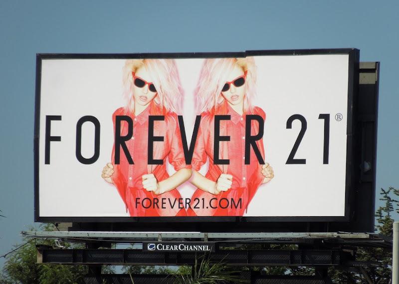 Forever 21 billboard