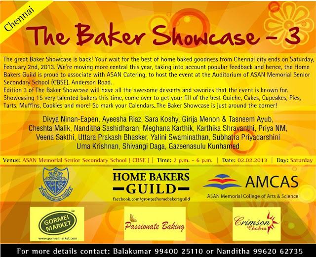 Bakers Showcase - 3