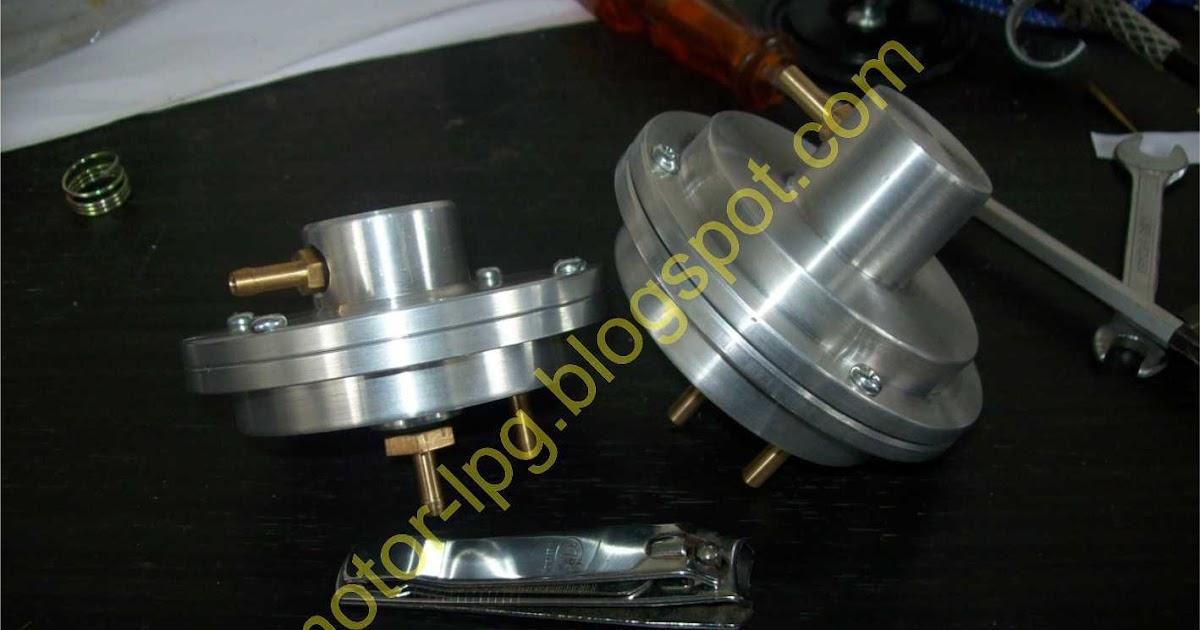 Konverter Kit LPG untuk Sepeda Motor: Vacumm Valve, Aman ...