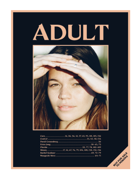 Adult Magazine No.1 Cover