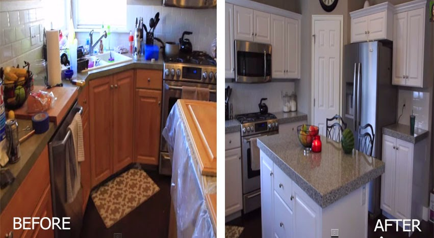 Reface kitchen cabinets diy amazing how to reface your for Refacing old kitchen cabinets