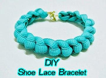 DIY Shoe Lace Bracelet