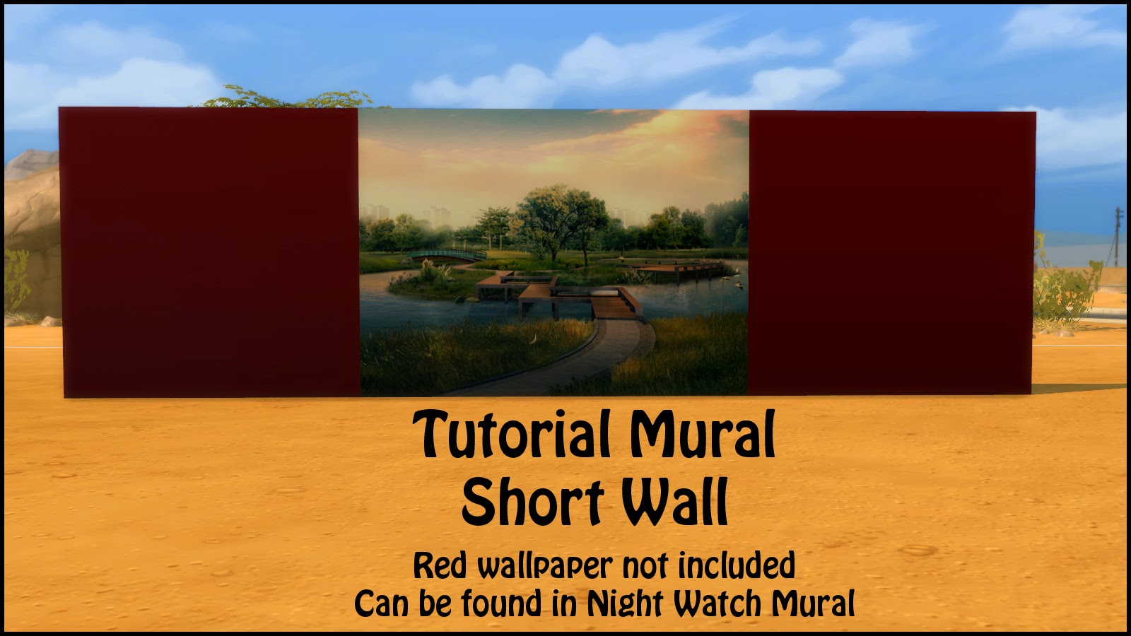 sims 4 how to create mural