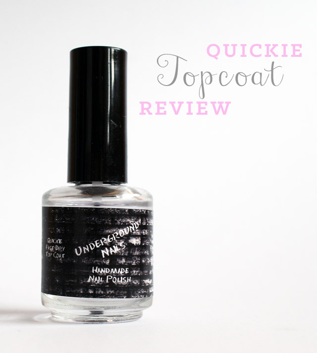 fast drying topcoat