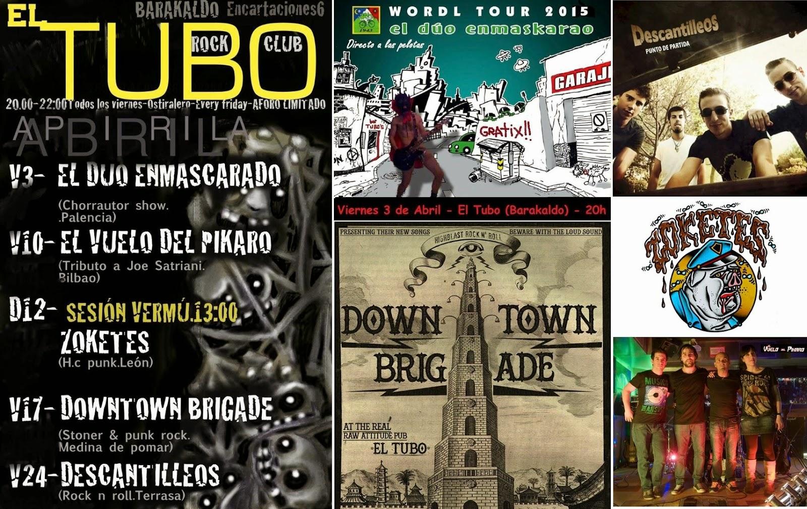 Conciertos en El Tubo