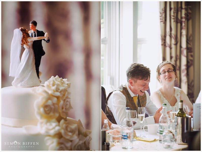 Bride and groom Bailbrook House