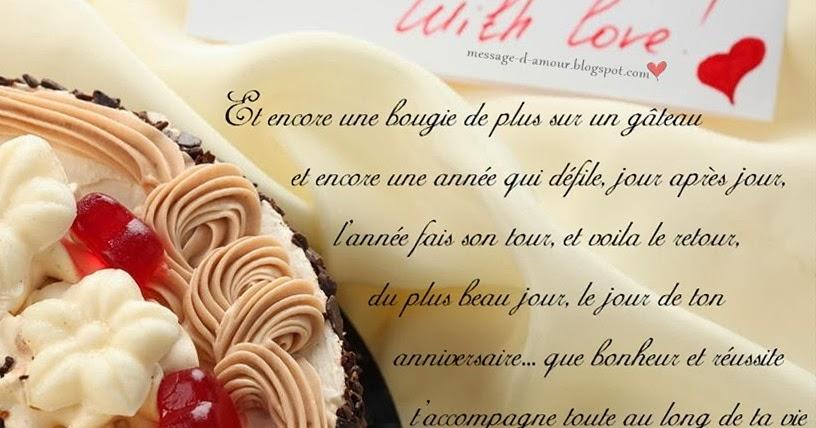 Message d 39 anniversaire message d 39 amour for Faire mes propres plans gratuitement