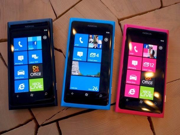 Harga HP Nokia lumia terupdate 2014
