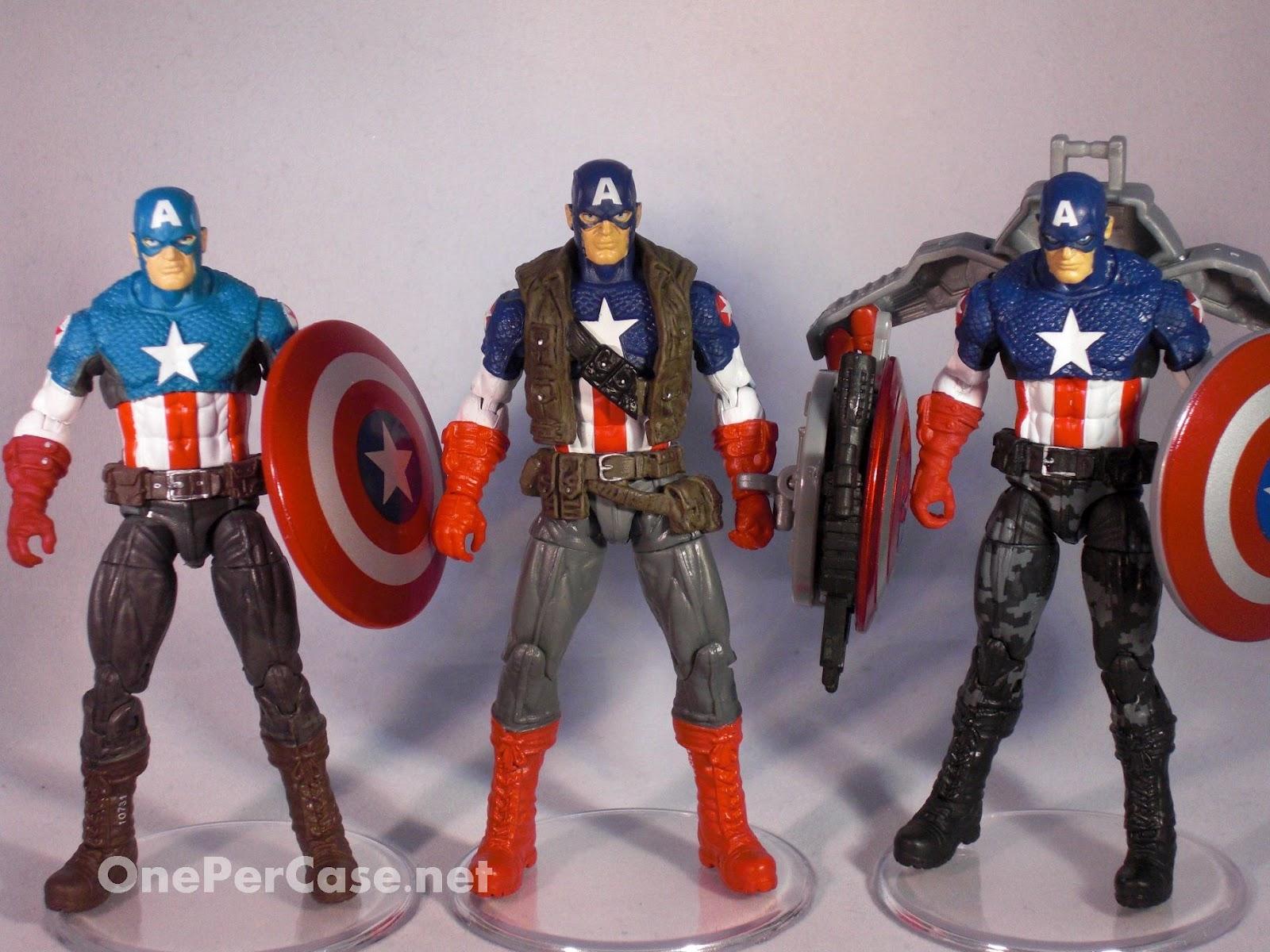 One Per Case: The Avengers: Super Shield Captain America #01