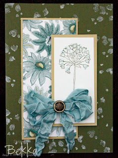 Paisley Petals Paper and Simply Soft Stamps Card