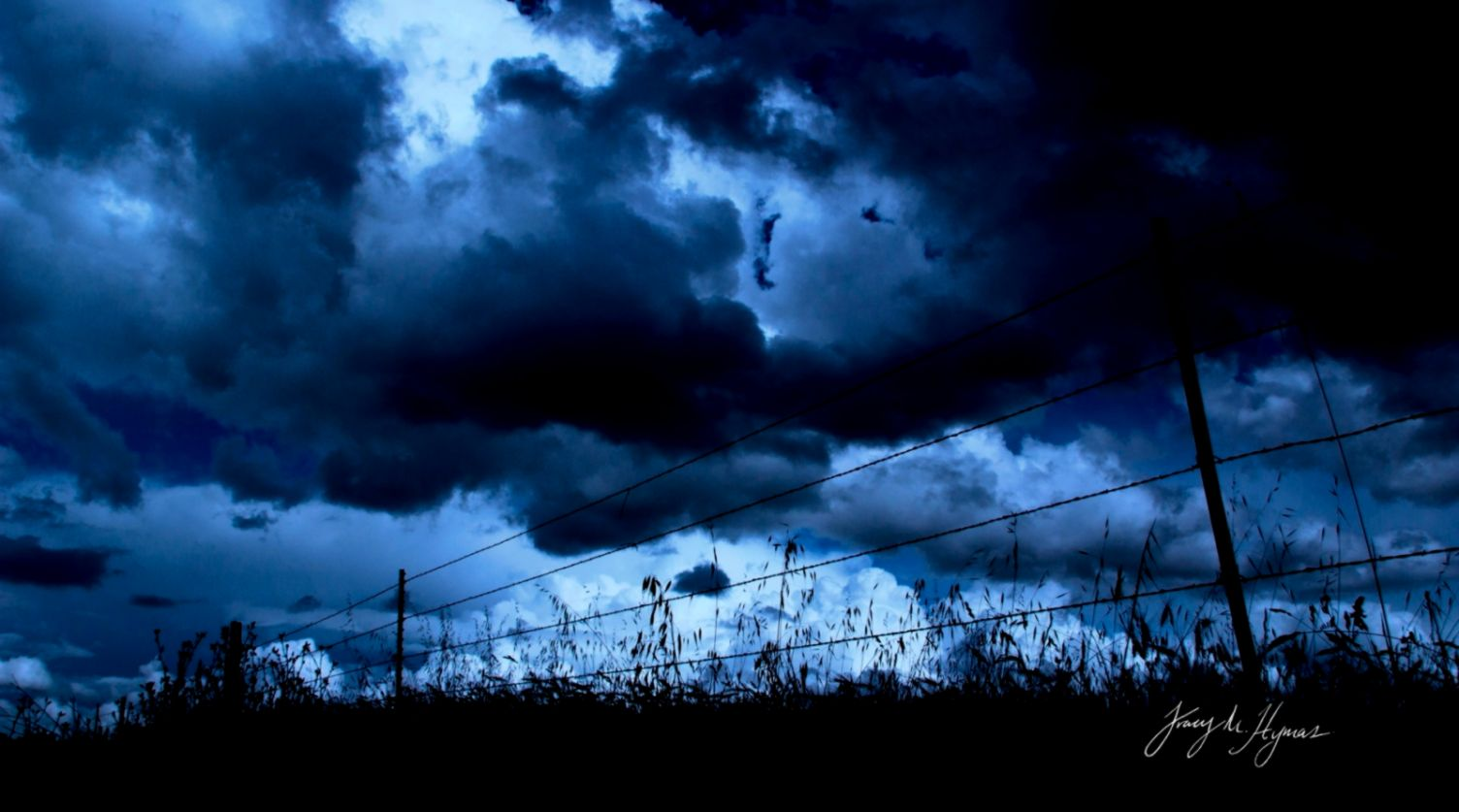 Dark Blue Sky Wallpaper 97577  WEBNODE