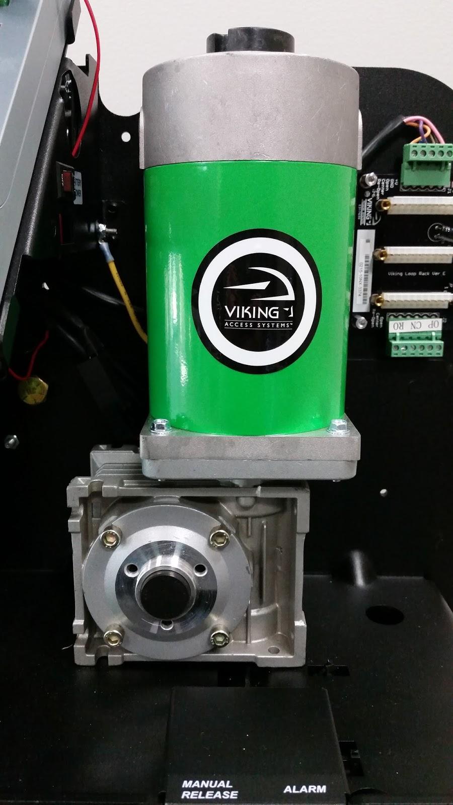 Viking gate openers use direct drive motors for Motor for gate opener