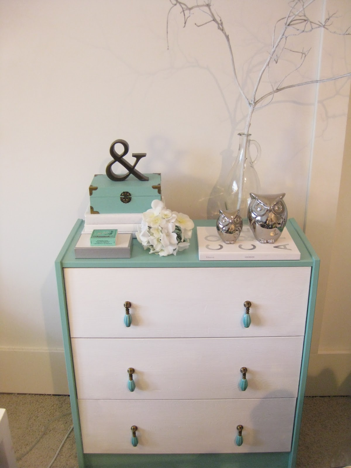 Anthro Dresser Thrifted