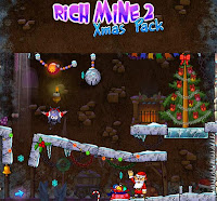 Rich Mine 2 Xmas Pack walkthrough guide.