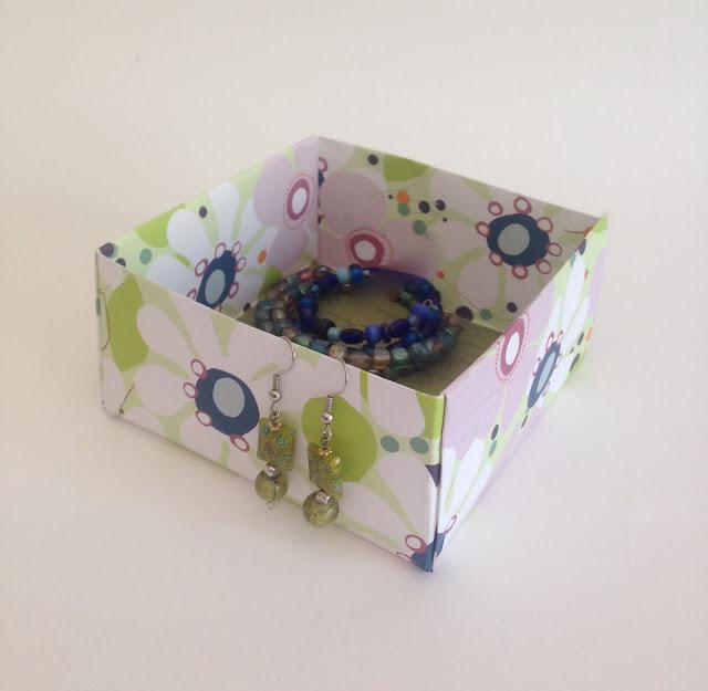 origami paper box lisa fulmer