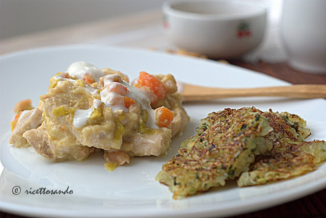 Blanquette di pollo alle arachidi ricetta di pollo