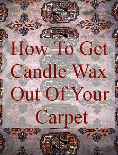 Tips That Will Help You Get Candle Wax Out of the Carpet