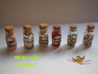 Escena miniatura: Tienda de magos
